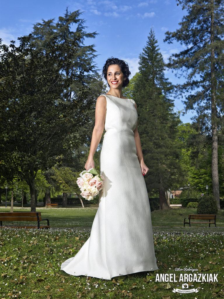 novia en loiola azpeitia